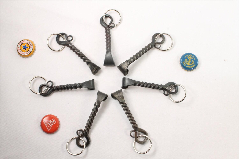 groomsmen gift set of 7 keychain bottle openers engraved. Black Bedroom Furniture Sets. Home Design Ideas