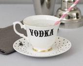 Vodka teacup