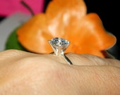 3.75 Carat Engagement Ring, Solitaire