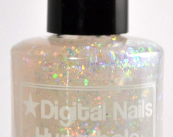 Hyperbole: the most beautiful flakie nail polish ever to be made on planet earth by Digital Nails