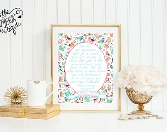 INSTANT DOWNLOAD, Matthew 10:29-31, Sparrows Printable, No. 213
