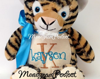 Personalized Plush Stuffed Tiger Soft Toy