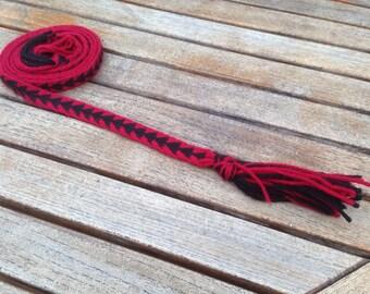 Arrow Pattern Tablet Woven Belt