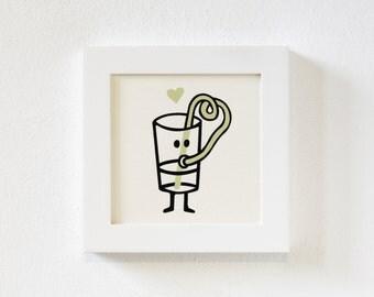 Silkscreen, Illustration, Print, Drinkyourself, Booze, Party