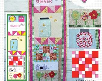 Summer Flies PDF Quilt Pattern