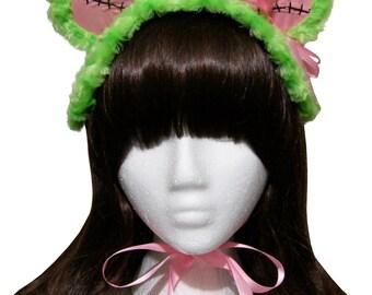 Kawaii Zombie Teddy Bear Bonnet Headdress