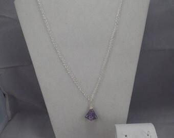 Light Purple/Speckled D4 & D8 Set
