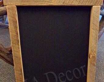 Reclaimed Wood Chalkboard - Barn Wood Chalkboard