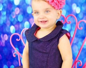 Headband, Baby Headband, Headband,  Infant Headband, Newborn Headband, Bright Pink Headband, Bright Pink Baby Headband