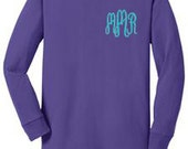 Youth Long Sleeve T-Shirt - Monogrammed