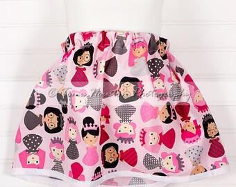 Girl's Twirl Skirt- Pink Princess
