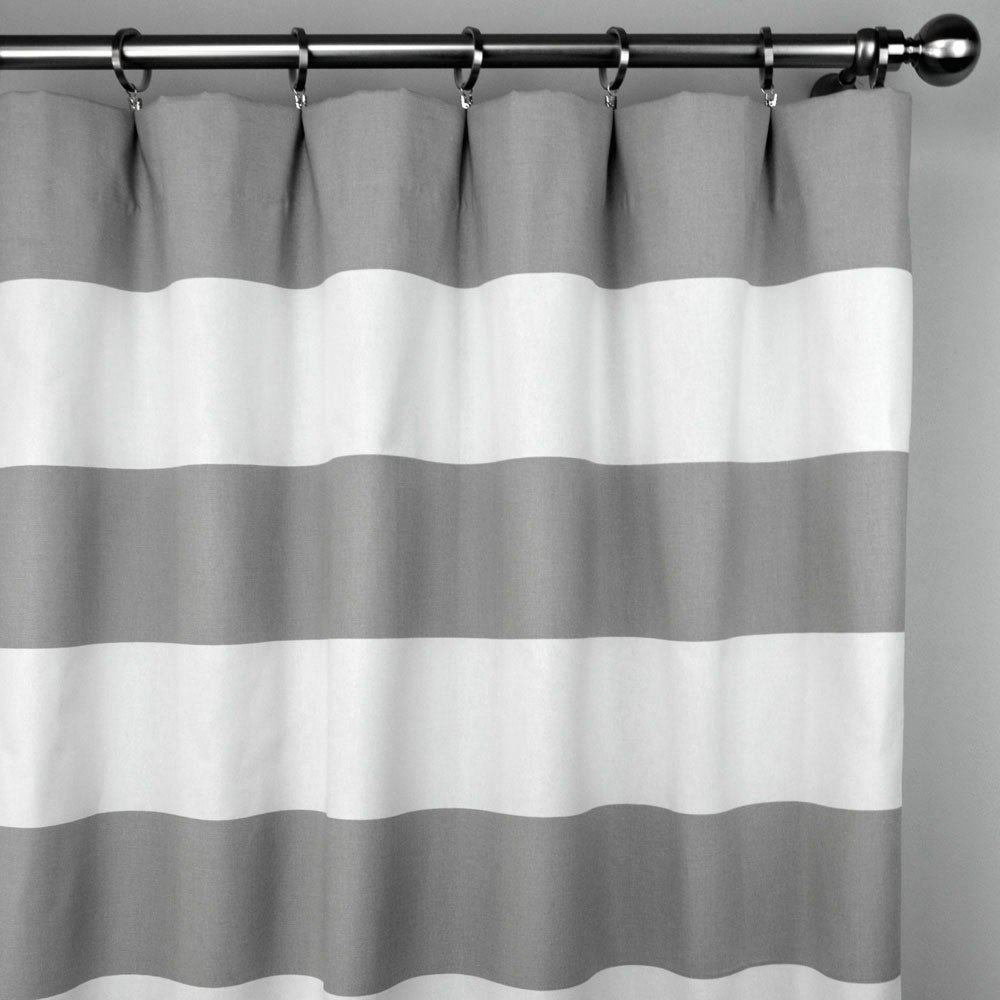 Grey and white striped curtains curtain menzilperde net Bold black and white striped curtains