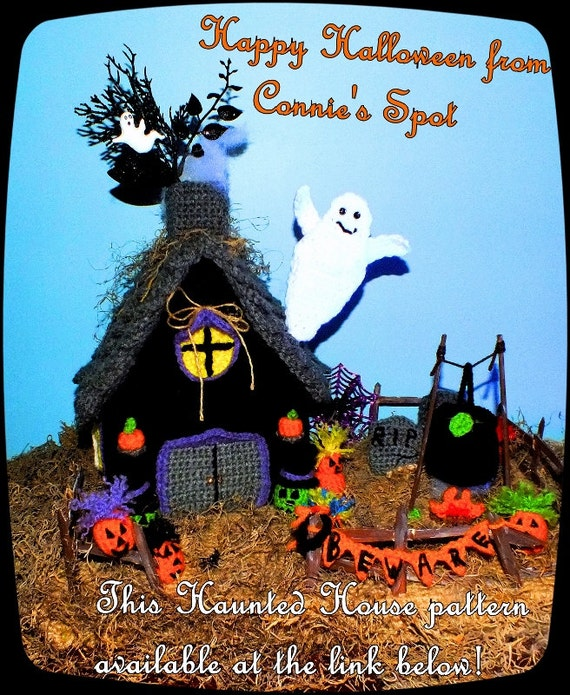 Halloween Haunted House©, Christmas Gingerbread House© & Little Girls Doll House Patterns© Three Great Patterns in One!!