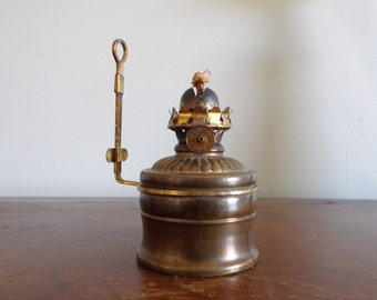The P&A MFC Company Acorn Wall Oil Lamp