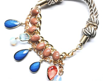WCPY: Ultra Lux Beaded Tie the Knot Rope Bracelet