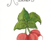 Wedding Table Cards, Custom Variations including Fruit, Herbs and Vegetables