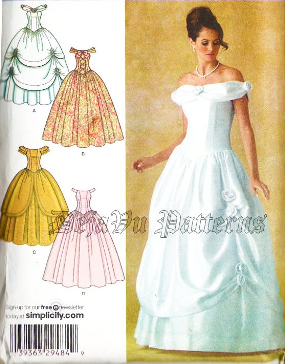 Ball Gown Simplicity Sewing Patterns - Patterns Kid
