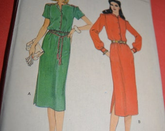 Vogue 7426  Misses Dress Sewing Pattern -UNCUT - Sizes 14