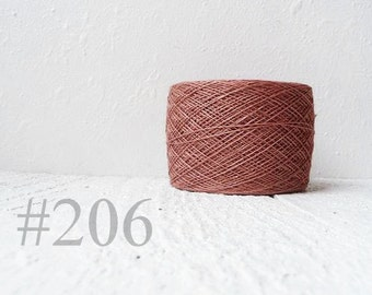 Laceweight Linen yarn - wild rose #206