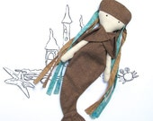 Selkie Doll Sewing Pattern PDF - Cloth Doll - Mythical Creature - Fairy Tale Doll