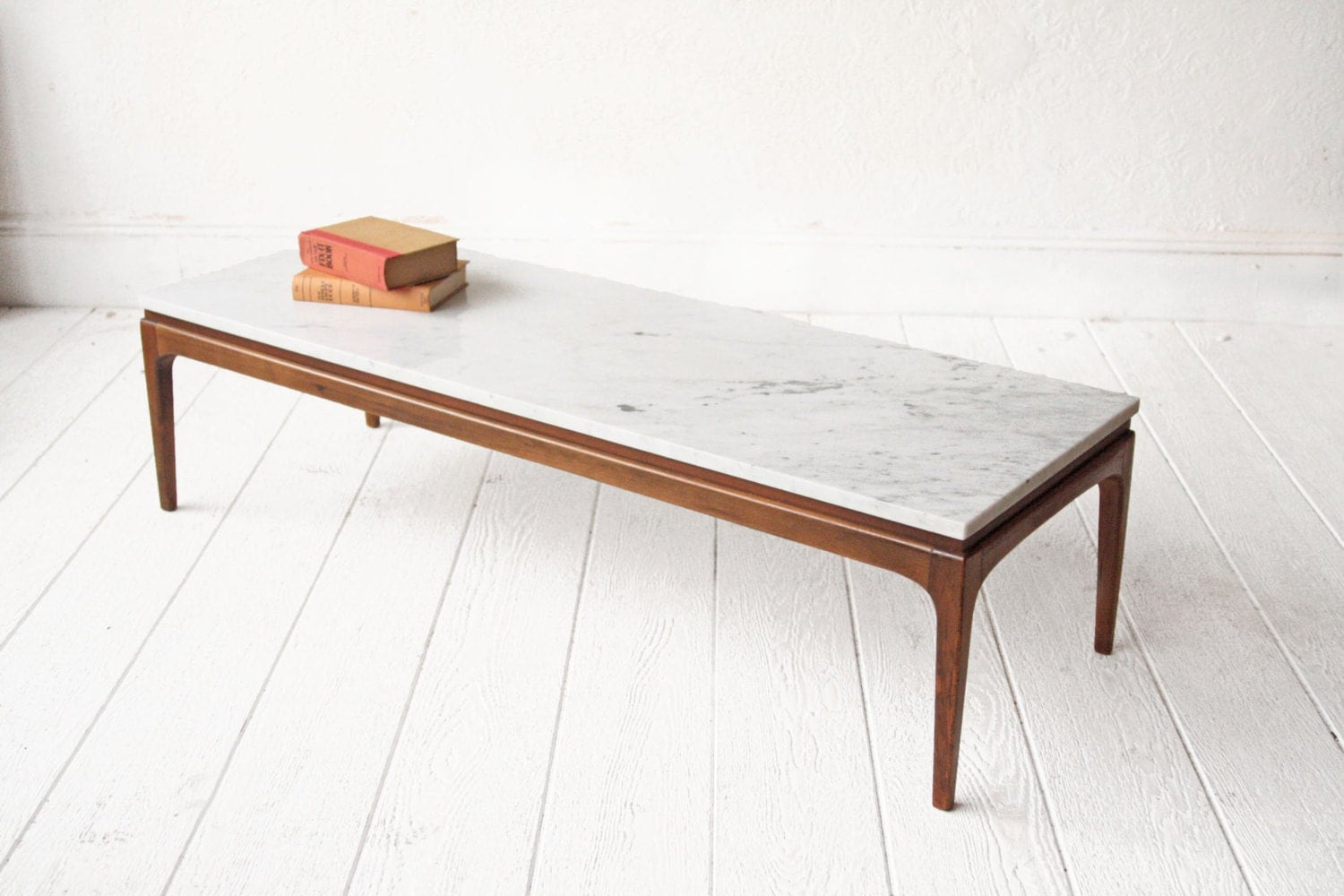 Marble coffee table lane mid century bench Stone coffee table