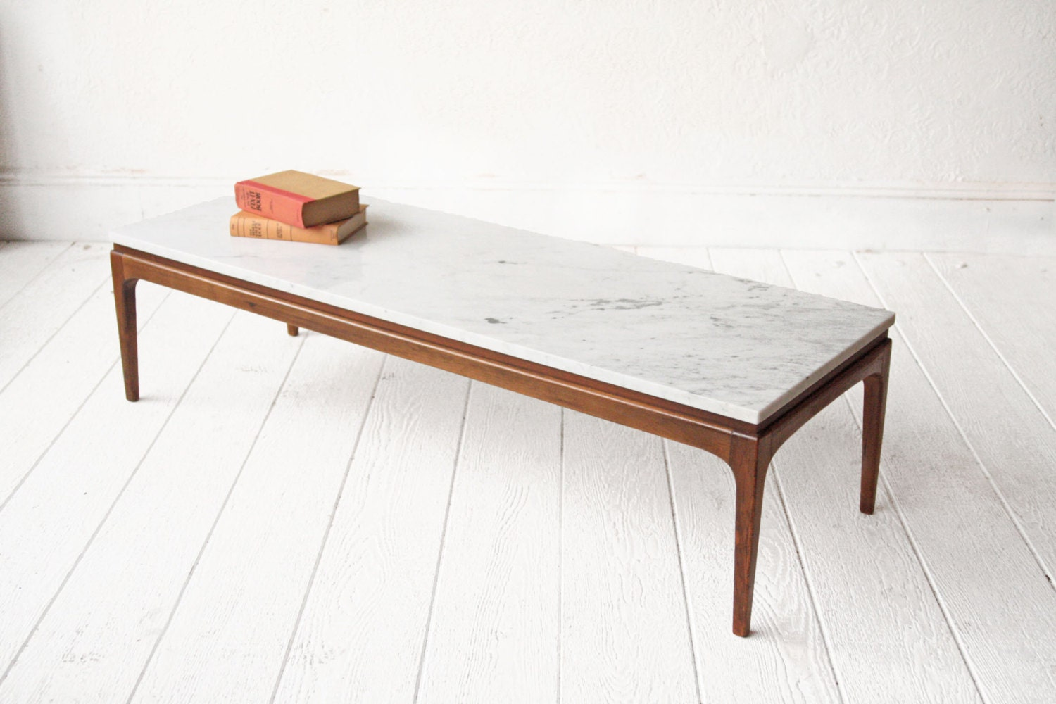 Marble Coffee Table Lane Mid Century Bench
