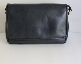 Ganson Navy Blue Crossbody Bag
