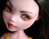 OOAK Monster High Draculaura Vampire Doll Repaint