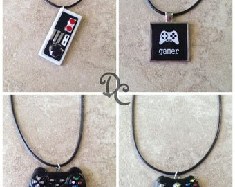 Gamer necklace- You choose!
