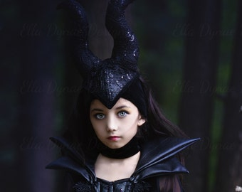 Maleficent Horned Headpiece