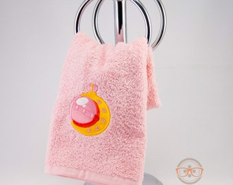 Sailor Moon Inspired - Embroidered Hand Towel