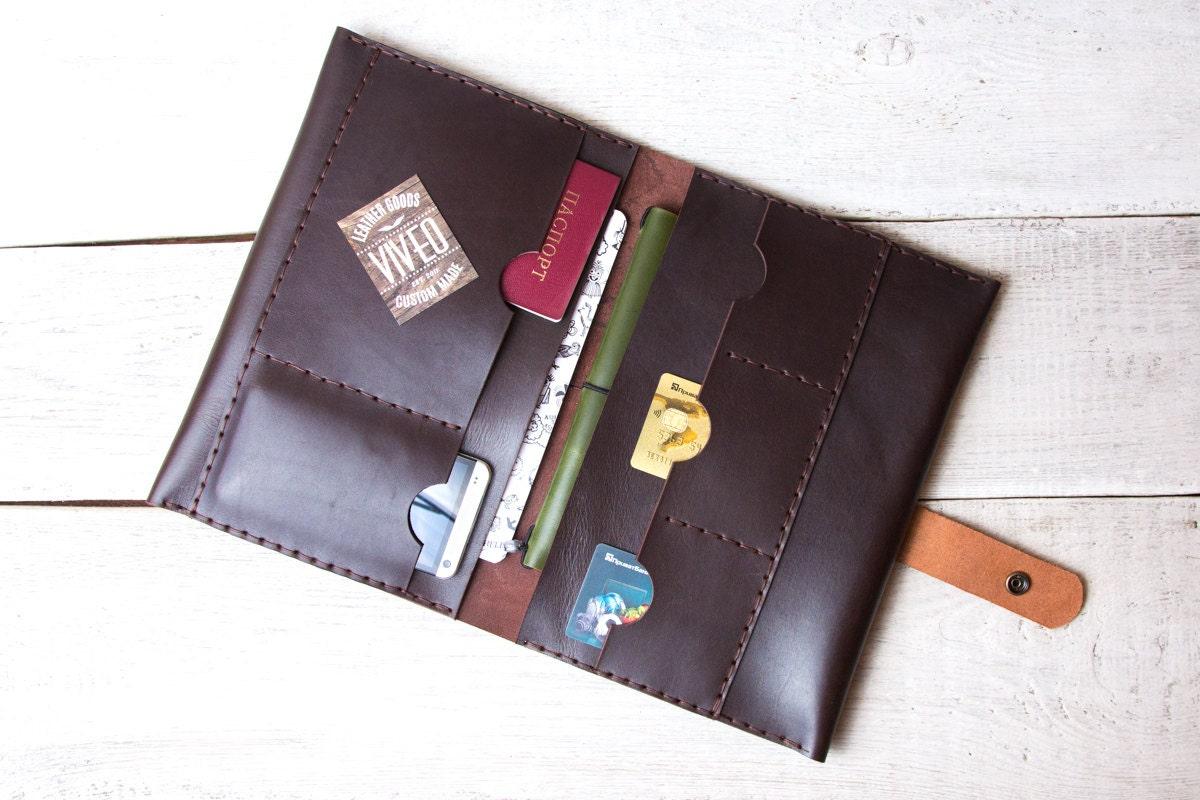 Leather iPad Air 2 / Mini 3 portfolio - 188.9KB