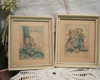 Vintage Children Prints