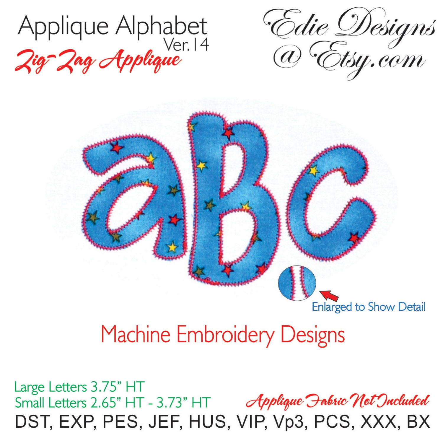 Applique alphabet v machine embroidery designs bx format