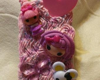 Custom Kawaii Cute Lalaloopsy  I phone 5 case