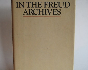 Vintage Book, In the Freud Archives, First Edition