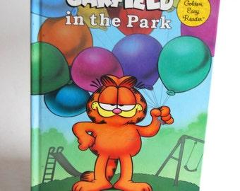 Vintage Children's Book, Garfield in the Park