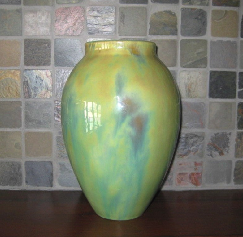 Fulper pottery vase arts and crafts or by riverhouseartpottery for Arts and crafts vases pottery