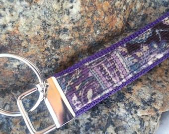 Corduroy Keychain Wristlet