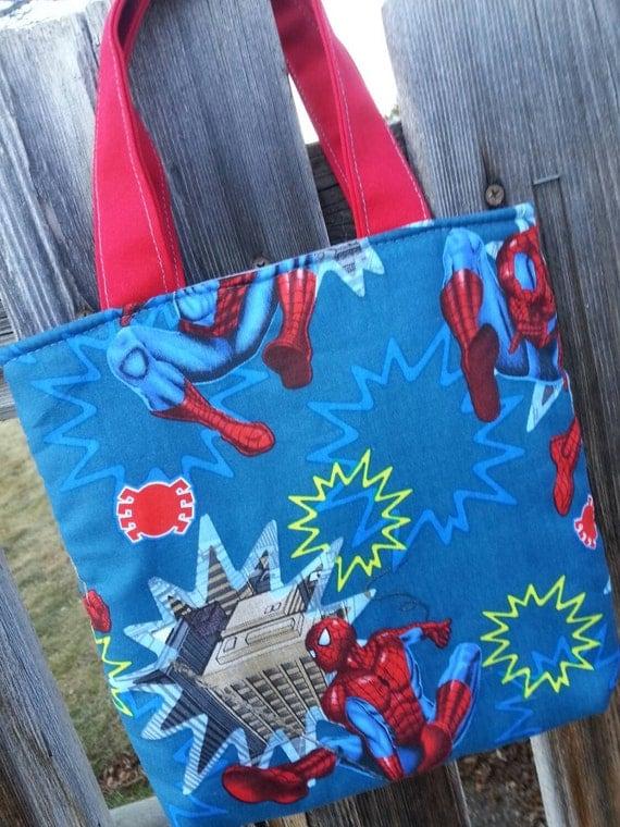 Toddler Tote Bag, Boys Super Hero Bag