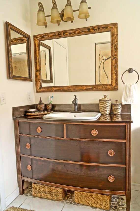 Items Similar To Bathroom Vanity MADE TO ORDER On Etsy