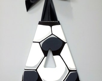 Wood Letter - Soccer Ball