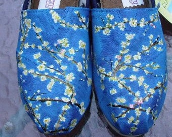 Almond Blossoms handpainted TOMS