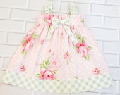 Girls Easter Dress Baby Toddler Handmade Boutique Clothing By Lucky Lizzy's