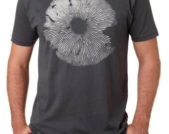 Men's Magic Mushroom Spore Print Tee