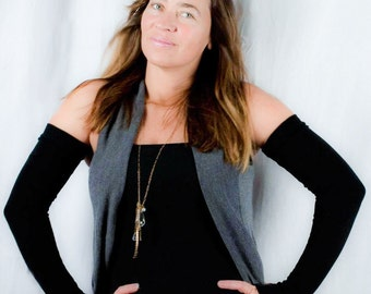 Sleeveez Fashion Sleeves, Long Sleeves, Black Arm Warmers, Thumbholes