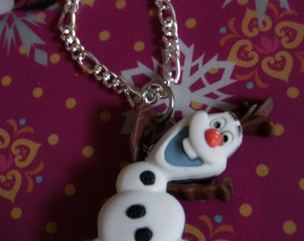 Dancing Olaf Necklace