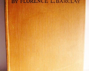 Vintage book Returned Empty Florence L Barclay hardback 1948 1940s romance novel tragedy love set in the roaring twenties flappers