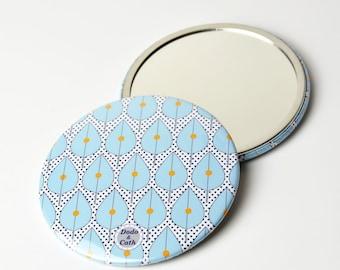 Pocket mirror 3 Inches - Leaf - DC
