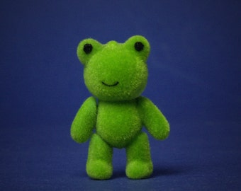 Miniature Toy Frog for Your Dollhouse